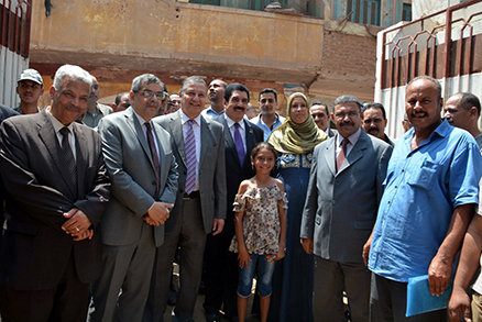 Abd El Halim and El Saeed inspect Kafr Farsis Development Project