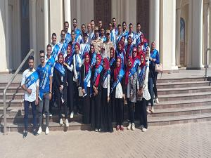 زيارة طلاب جامعة بنها للعاصمة الإدارية الجديدة