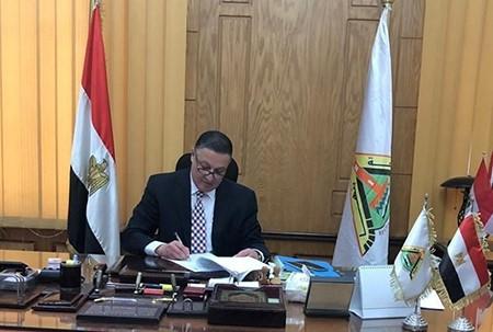 تعيين وكلاء ورؤساء أقسام جدد بجامعة بنها