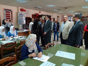 El Saeed Inspects Faculty of Nursing at Benha University