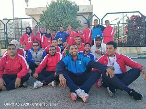 جامعة بنها تحصد 11 ميدالية فى بطولة متحدى الإعاقة بالإسكندرية
