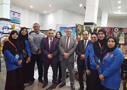 «المغربى» يشارك في افتتاح أسبوع فتيات الجامعات بالفيوم