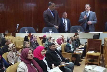 «السعيد» يفتتح دورات تدريب جائزة مصر للتميز الحكومى بجامعة بنها