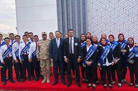 جامعة بنها تشارك فى افتتاح مشروعات الإنتاج الحربى