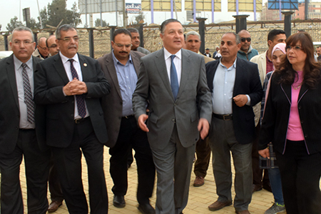 Benha University President inspects Faculties of Physical Education and physical therapy