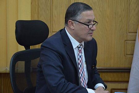 محمد حسن رئيسا لقسم الرقابه الصحية علي الأغذية بكلية الطب البيطري
