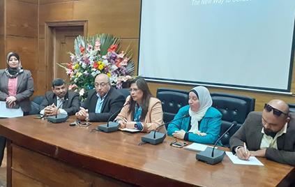 راندا مصطفى: تعقيم وتطهير المنشات الجامعية للوقاية من فيروس كورونا