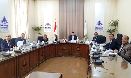 Leadership Committee at Benha University Receives Applicants for Leadership Positions