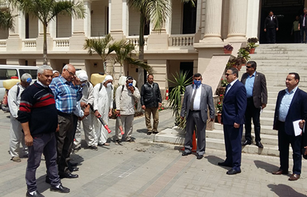 Dr Gamal El Saeed follows up Cleaning and Sterilization Works of Benha University Facilities