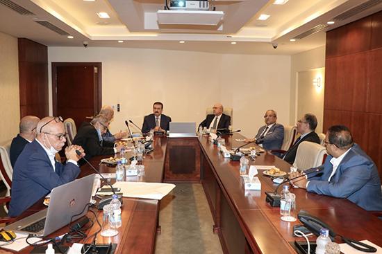 لجنة تنفيذ مشروع مستشفى بنها التخصصي الجديد تناقش بدء أعمال الحفر