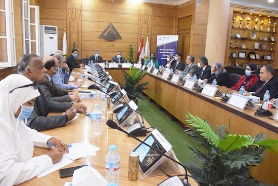 جامعة بنها تعقد اللقاء المجتمعي الثالث لاختيار الكليات الجديدة