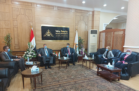 BU President: We are keen to provide a Real Service to the People of Qalyoubia