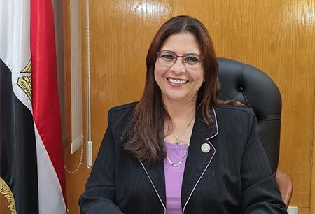 جامعة بنها تهنئ راندا مصطفى لتعيينها عضوا بمجلس الشيوخ
