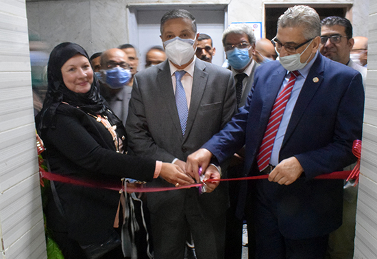 El Saeed opens the Clinical Toxicology Unit at the University Hospital