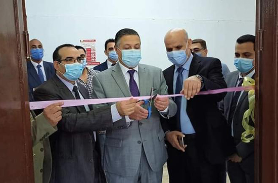 El Saeed inspects the Faculties of Veterinary Medicine and Agriculture