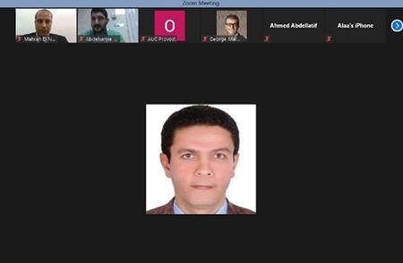 جامعة بنها تبحث سبل التعاون مع الجامعة الامريكية بالقاهرة