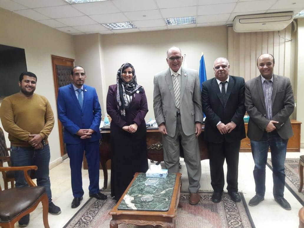 لجنة متابعة  المشروعات البحثية والقومية بجامعة بنها:  تتفقد 6 مشاريع  بكليات الطب البيطري وهندسة شبرا والعلوم