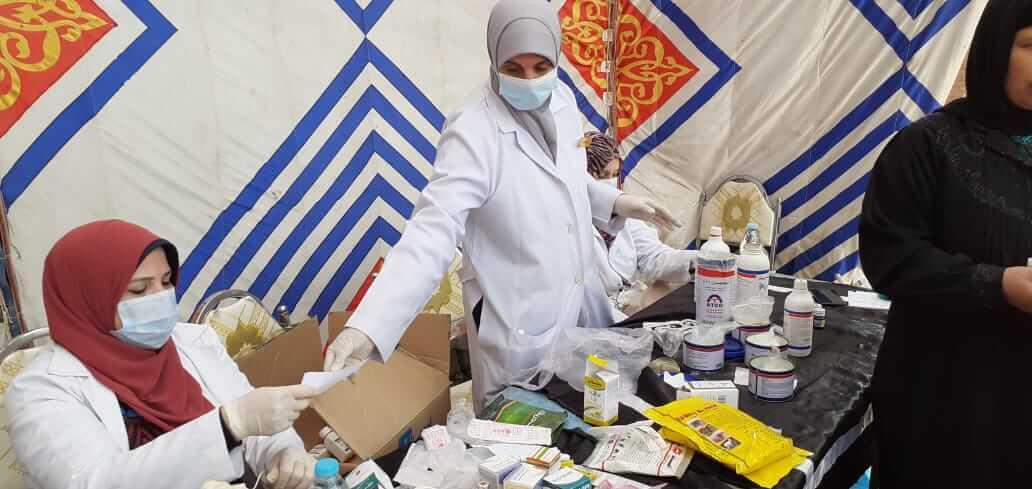 لليوم الثاني على التوالي : جامعة بنها تطلق قوافل طبية وبيطرية وزراعية بقرية كفر العرب