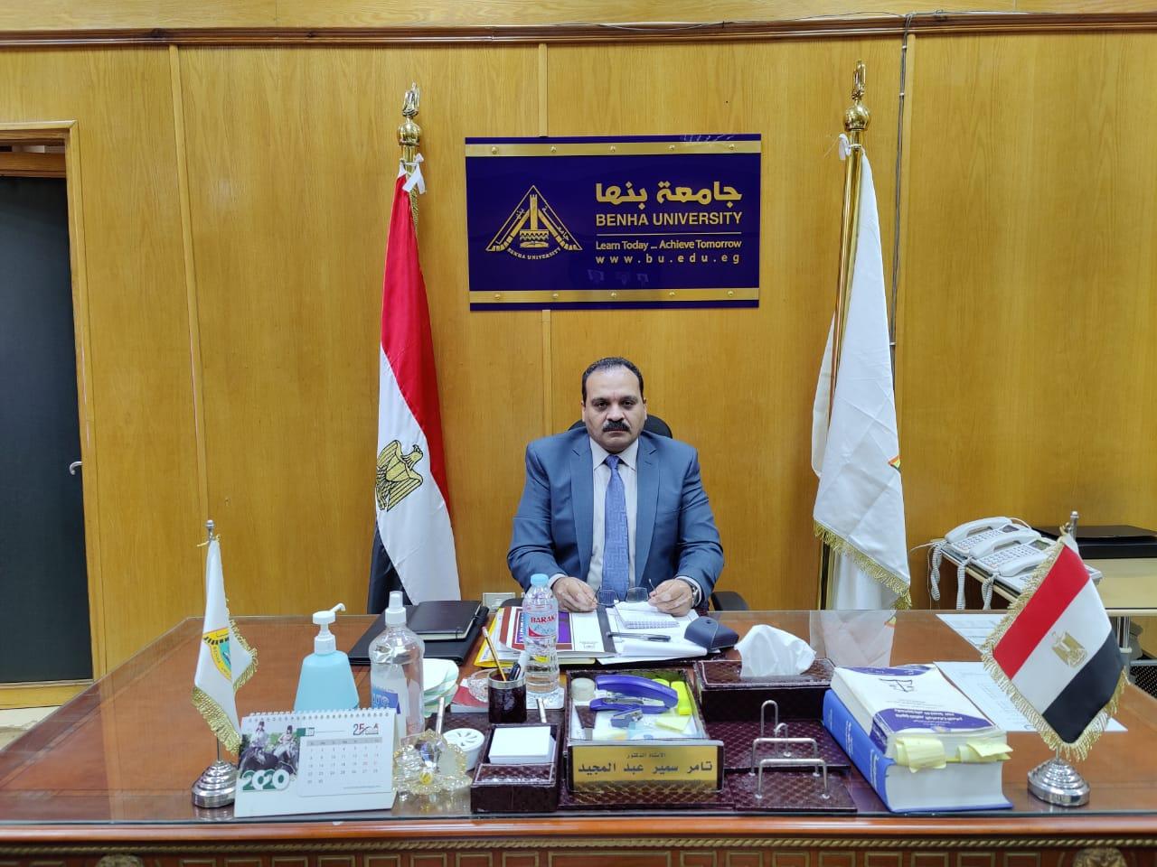 831 طالبا يخوضون انتخابات الاتحادات الطلابية بجامعة بنها