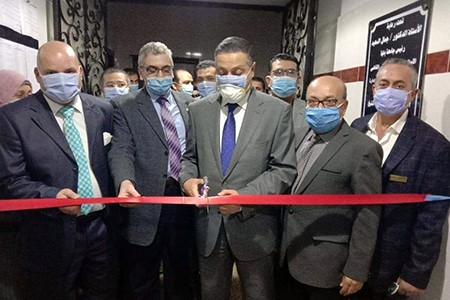 BU President opens new Medical Departments at BU Hospital