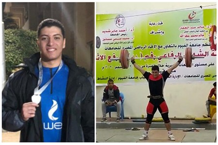 Benha University gets the Second Place at Universities Weightlifting Championship