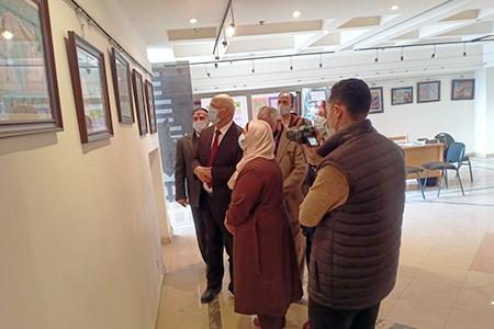 جامعة بنها تفتتح معرض للتراث المصري الفرعوني والاسلامي