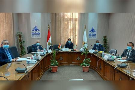 في أول مهامه: «الجيزاوي» يترأس لجنة اختيار عميد كلية طب بنها
