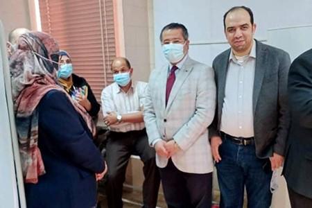 Benha University starts Coronavirus Vaccination for Its Medical Staff