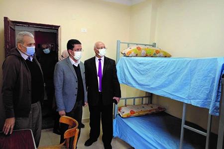 Benha University Hostels start receiving Students on Wednesday, February 24, 2021