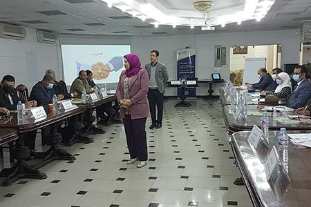 «الجيزاوى» يفتتح برنامج «القيادة والتأثير» لتأهيل الترشح لعمادة الكليات بجامعة بنها
