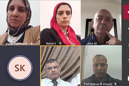 بالتعاون مع المجلس الثقافي البريطاني بالقاهرة: جامعة بنها تنظم ورشة عمل عن استراتيجيات التوعية بالهوية لتعزيز السمعة الأكاديمية للمؤسسات