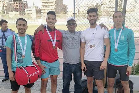 جامعة بنها تحصد 11 ميدالية في بطولة الجامعات المصرية لألعاب القوى