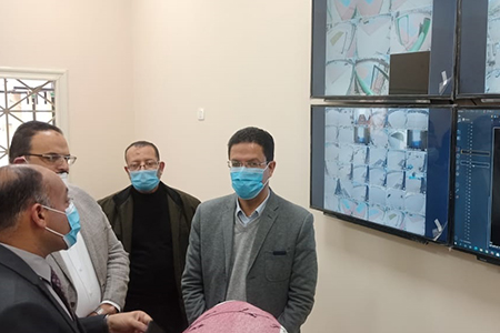 El Gizawy inaugurates Security Camera System at Faculties of Physical Education and Physical Therapy