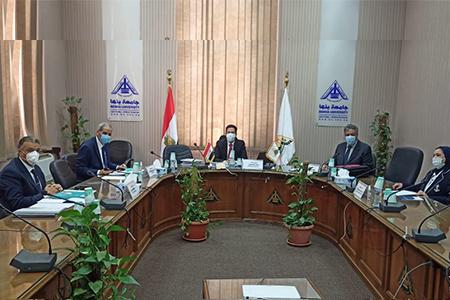 «الجيزاوي» يترأس لجنة اختيار عميد كلية التربية النوعية