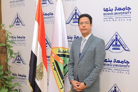 القائم بعمل رئيس جامعة بنها يهنئ الرئيس السيسي بعيد تحرير سيناء