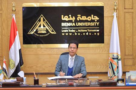 تكليف الزعبلاوى بتسيير أعمال عمادة كلية الزراعة والشعراوي مديرا تنفيذيا للمعلومات بالجامعة