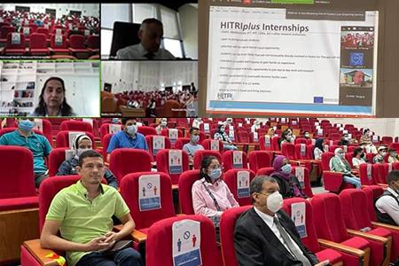 جامعة بنها تنظم مدرسة دولية افتراضية بالتعاون مع مركز سيرن بسويسرا لأبحاث الطاقة