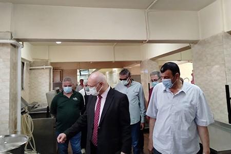 Prof. Gamal Soussa inspects Benha University Hostels at Kafr Saad