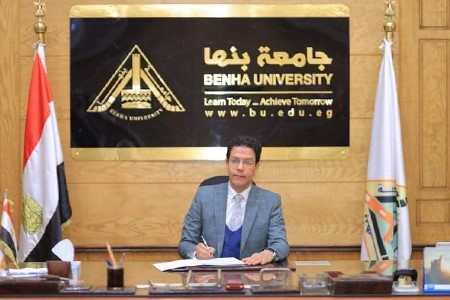 Prof. Dr. Nasser El Gizawy appoints Karam Abd El Ghany as the Acting Dean for Faculty of Computer and Artificial Intelligence