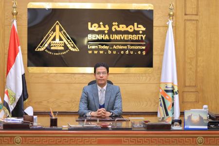 رئيس جامعة بنها يهنئ الرئيس السيسي بالعام الهجري الجديد