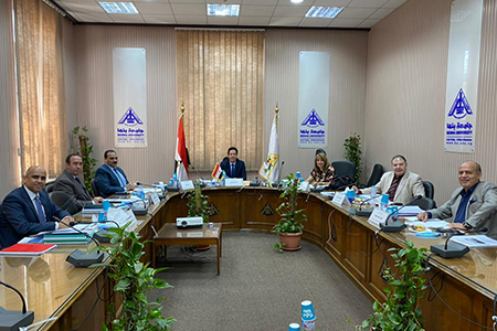 Benha University receives the Applicants for the Leadership Positions