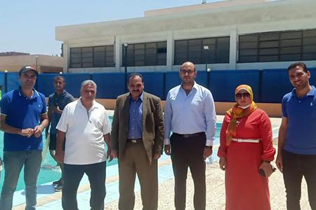 In his Inspection Tour: Dr. Tamer Samir inspects Leadership Development Center