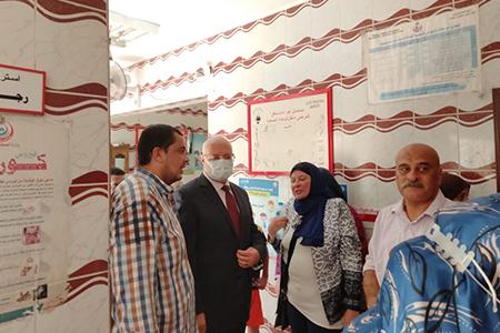 In the Framework of Hayah Karima Initiative: Benha University continues launching Its Medical convoys for Shibin El Qanater Villages
