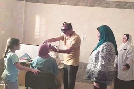 فى اطار مبادرة حياة كريمة: جامعة بنها تنظم قافلة طبية بقرية الاحراز بشبين القناطر