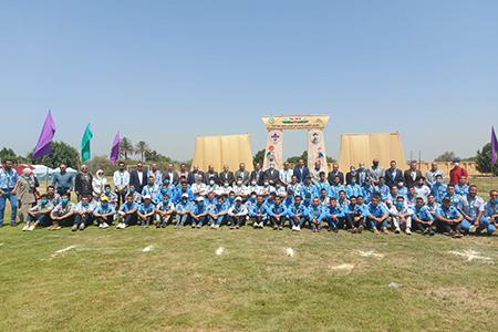 افتتاح المهرجان الكشفي التاسع عشر لجوالى جامعة بنها