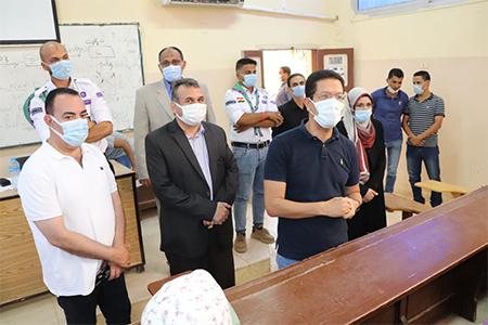 الجيزاوى: تطعيم 6 آلاف من منتسبي جامعة بنها بلقاح فيروس كورونا