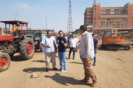 بالتعاون مع وزارة الاتصالات: القائم بأعمال رئيس جامعة بنها يتفقد إنشاء مركز تدريب وإبداع مصر الرقمية بالجامعة