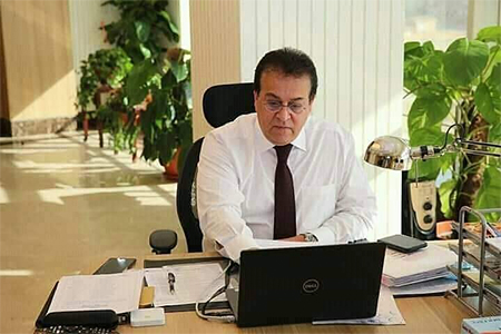 Ministerial Decrees for appointing Dr.Karam Abdel Ghany as Faculty of Computer and Artificial Intelligence Dean