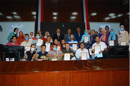 نائب رئيس جامعة بنها يشهد ختام فعاليات الموسم الثانى لـ «مسابقة العباقرة» في جامعة بنها