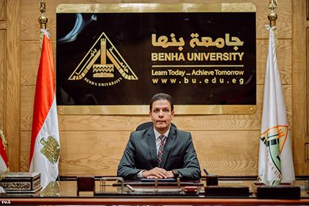 قرارات وزارية بتجديد تعيين أمناء ومديرين عموم بجامعة بنها